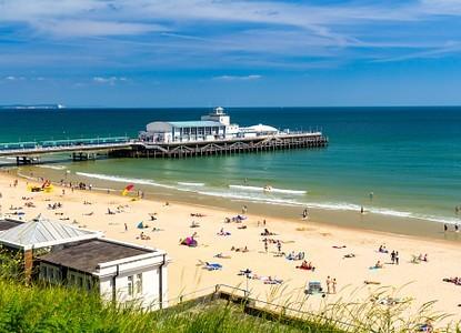 Bournemouth, Sandbanks or Poole