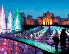 Blenheim Palace at Christmas
